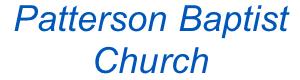 Patterson Baptist Church